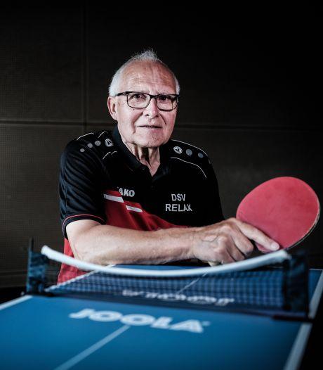Didammer Martin (77) gaat altijd tafeltennissen, 'al komt de koningin'