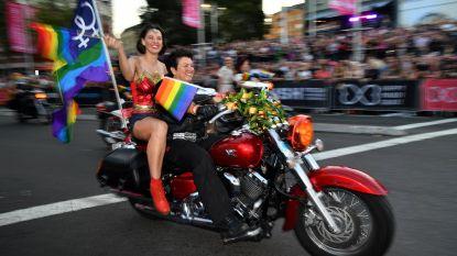 LGBT'ers vieren 40ste verjaardag van Mardi Gras-parade in Sydney