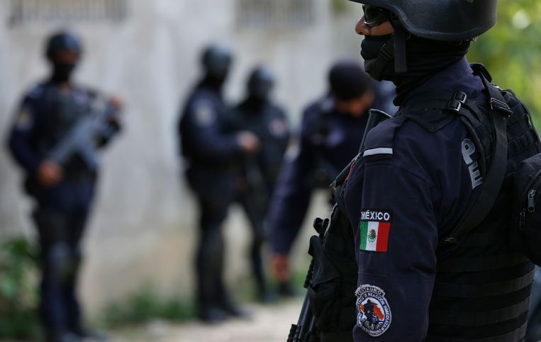 Beeld ter illustratie, Mexicaanse politie.