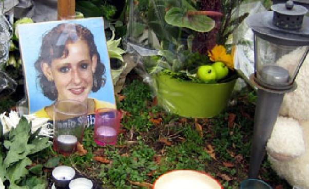 Monumentje voor Melanie