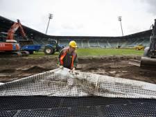 Kunstgrasmat verliest snel terrein in Nederlandse stadions