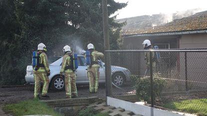 Asbest vrijgekomen bij schuurbrand met auto's