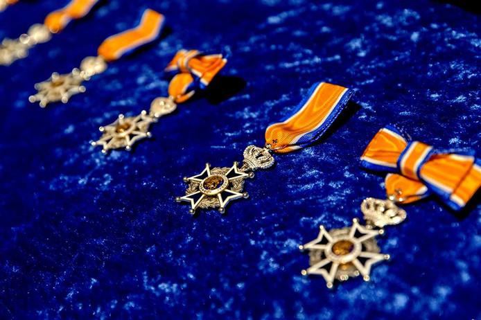 Verschillende soorten Koninklijke onderscheidingen.