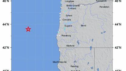 Aardbeving met magnitude van 6,3 voor kust van Oregon