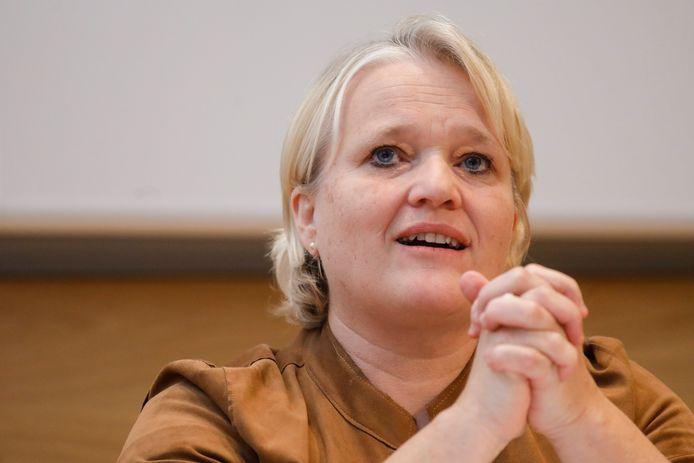 Nathalie Muylle, ministre de l'Emploi (CD&V).