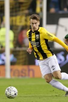 Talent Vroegh is blij met vertrouwen van trainer Oosting bij Vitesse