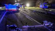 Zwaar ongeval tussen bus van De Lijn en personenwagen: één dodelijk slachtoffer