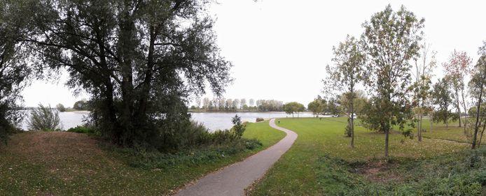 Recreatiegebied De Zandmeren in Kerkdriel.