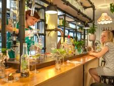 The Green Bar laat planten groeien in bierflesjes met een stel springstaartjes