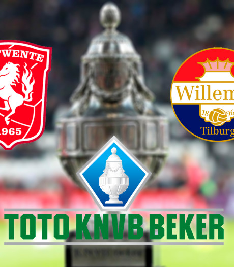KNVB-beker: FC Twente - Willem II