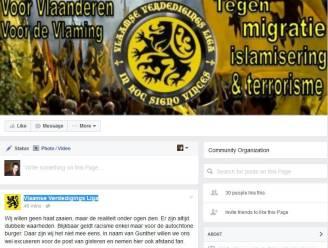 """Facebookpagina Vlaamse Verdedigings Liga weer online: """"We laten ons niet zomaar muilkorven"""""""