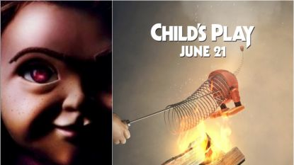 Ongepast? Chucky slacht 'Toy Story'-personages af in officiële posters voor 'Child's Play'