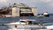 Ramptoeristen betalen voor minicruise naar Costa Concordia