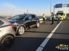Helden A5 rijden onwel geworden automobilist klem