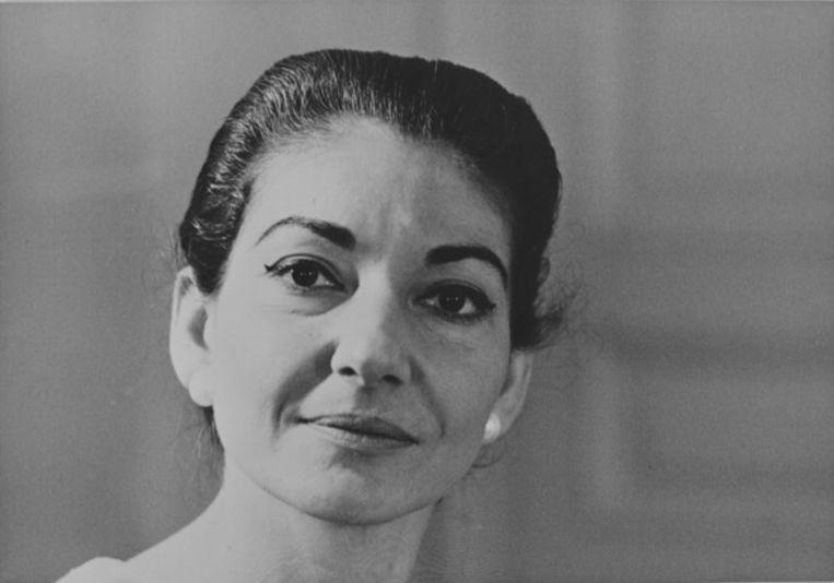 Operazangeres Maria Callas. Beeld ANP Kippa
