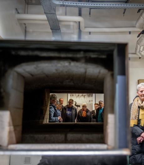 Kijkje nemen bij oven crematorium in Tiel tijdens open dag