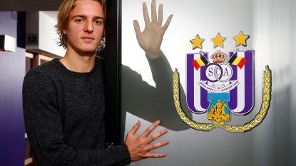 """Sebastiaan Bornauw geeft zijn eerste grote interview: """"Ik heb het Anderlecht-DNA"""""""