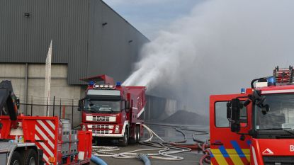 Brandje op zaterdag, rampenplan op zondag