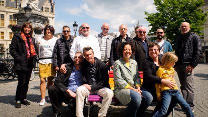 Rondreizende regenboogbank vestigt aandacht op  Dag tegen Homofobie en Transfobie