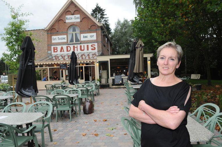 De nieuwe uitbaatster Helene Goormans aan brasserie Het Badhuis