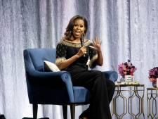 'Bevrijde' Michelle Obama trekt volle zaal in Nederland