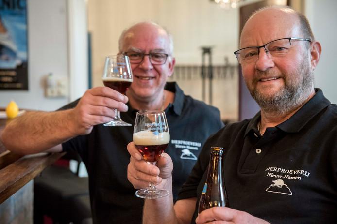 Rudy van de Brande en Piet Boënne, organisatoren van de proeverij.