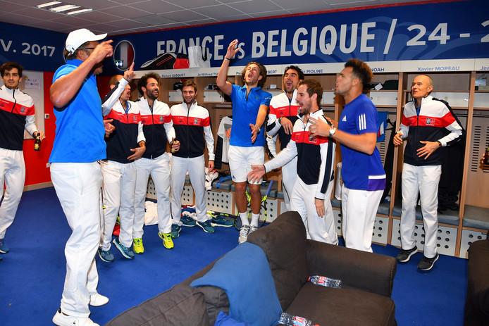 Frankrijk vierde gisteravond feest.