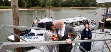 Na 40 jaar alsnog een sprookjeshuwelijk in Arnhem
