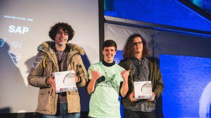 Dilbeekse student wint grootste hackathon van het land