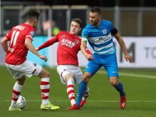 LIVE | Zwolle-goalie stopt penalty Koopmeiners, AZ en PEC bij rust in evenwicht