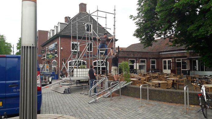 Bij 't Tramhuys in Schijndel komt waarschijnlijk een winterterras.