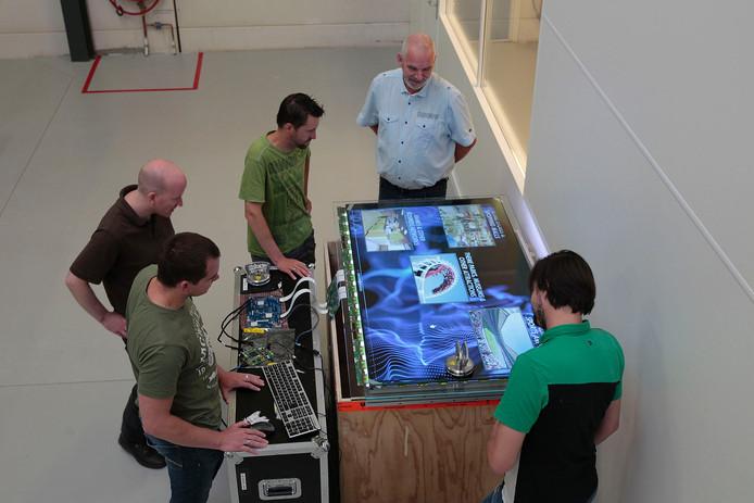 See-Cubic ontwikkelt 3D-televisie in Eindhoven.