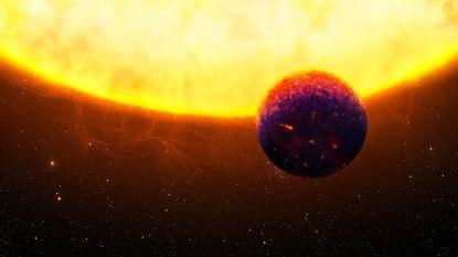 Een planeet die rood en blauw glanst: nieuwe superaarde met mogelijk robijnen en saffieren ontdekt