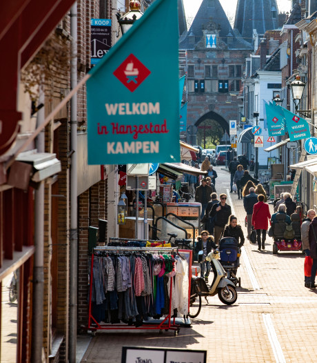 Kampen pompt 3 ton in levendigere binnenstad