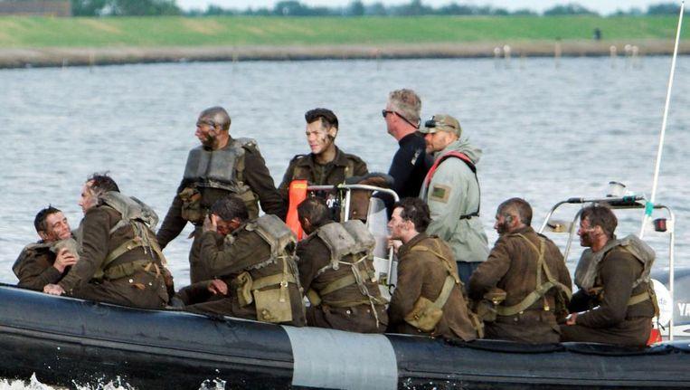 Filmopnamen bij Urk voor Dunkirk. Beeld Hollandse Hoogte