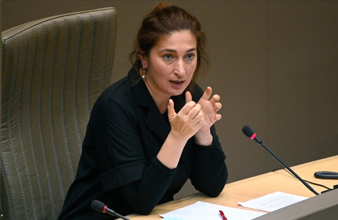 La ministre flamande de la Justice Zuhal Demir (N-VA).