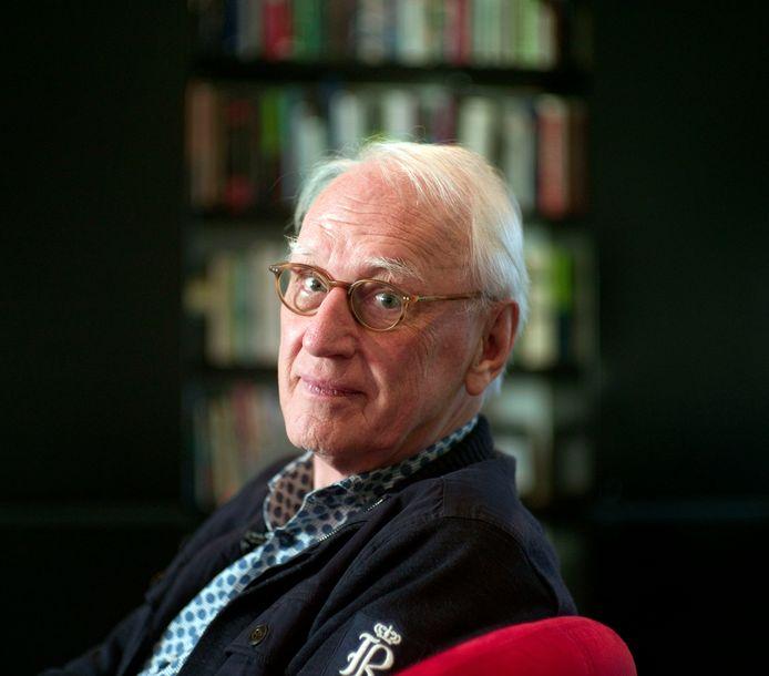 """Technologisch Futuroloog Wim de Ridder, oud-hoogleraar UT. """"Alles begint bij het besef dat menselijke ellende niet een manier moet zijn om geld te verdienen."""""""