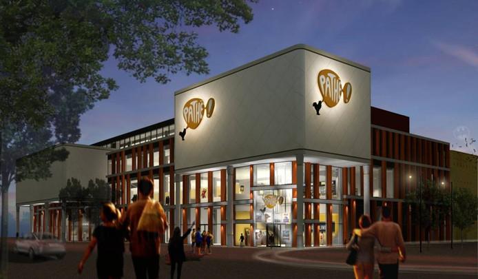 De nieuwe bioscoop van Pathé aan het Katwolderplein in Zwolle krijgt geen IMAX-zaal