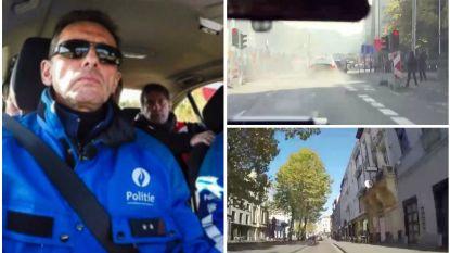 EXCLUSIEF. De bloedstollende achtervolging in 'Alloo Bij De Wegpolitie': twee fietsers aangereden en dranghekken mee