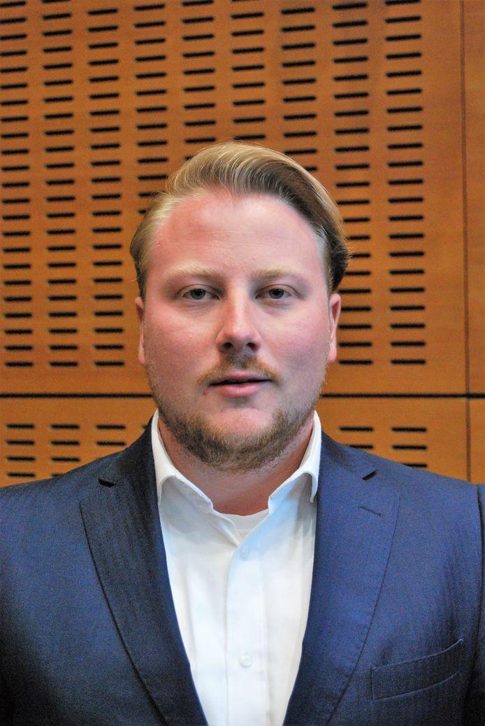 Robin van Ulzen, kandidaat-wethouder voor de VVD in Meppel.