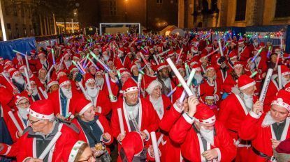 Santa Walk trekt vrijdagavond door stadskern