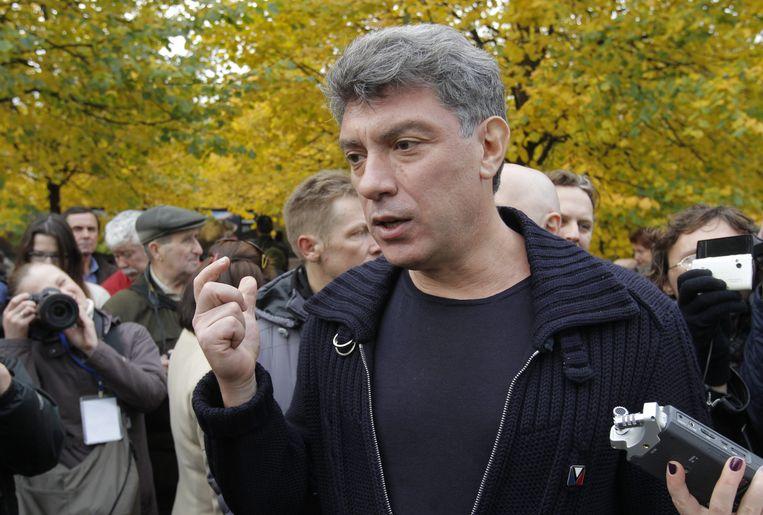 Boris Nemtsov, vicepremier onder president Boris Jeltsin, en een van dé Russische oppositieleiders werd op 27 februari 2015 op straat in Moskou vermoord.