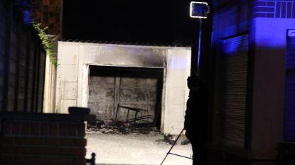 Garagebox brandt volledig uit