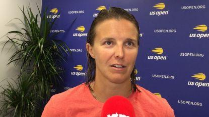 """Flipkens naar tweede ronde op US Open: """"Ervaring heeft op het einde grote rol gespeeld"""""""