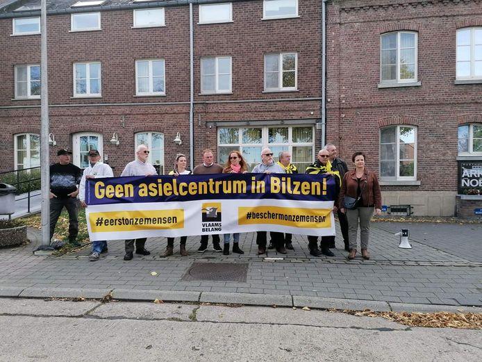 Manifestation du Vlaams Belang à Bilzen