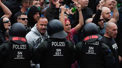Duitse politie bereidt zich voor op nieuwe protestmars van extreemrechts in Chemnitz
