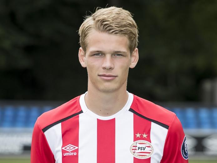 Nikolai Laursen speelt sinds 2015 in de kleuren van PSV.