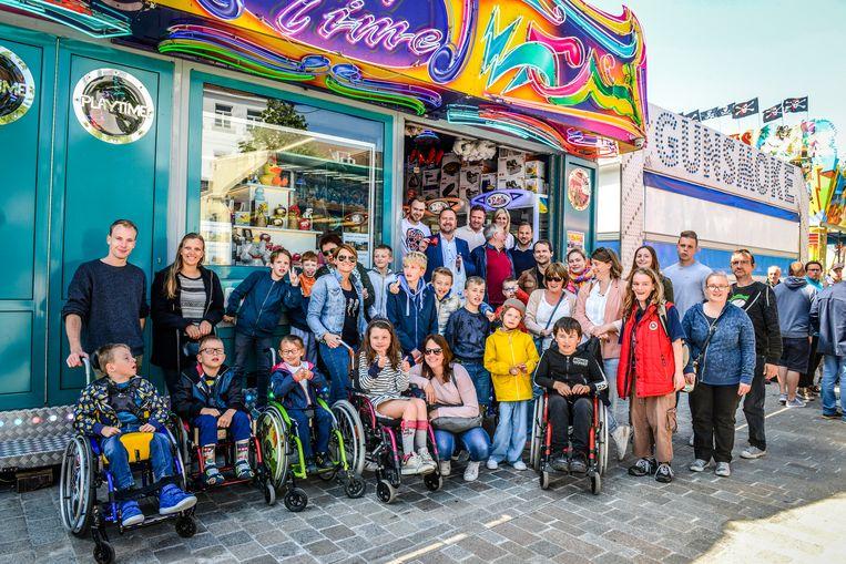 Brugge, meifoor voor kinderen met een beperking