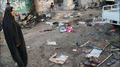Minstens elf doden bij aanslag in Bagdad