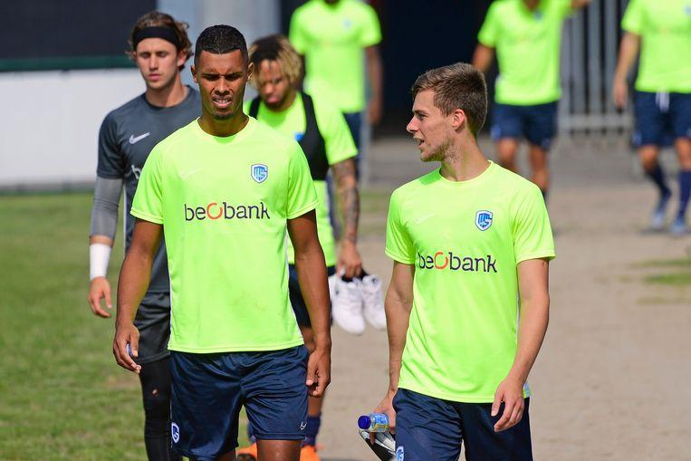 Zinho Gano en Rubin Seigers.